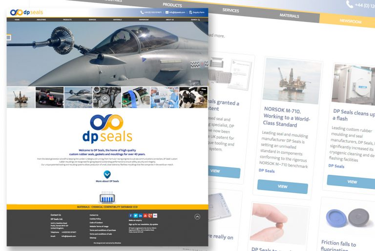 DP Seals' Website