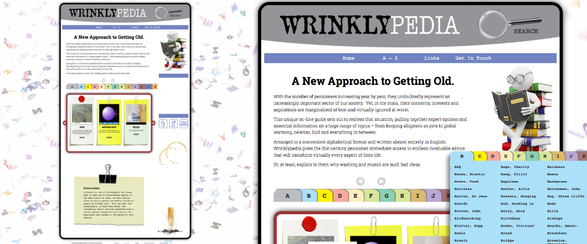 Wrinklypedia Website